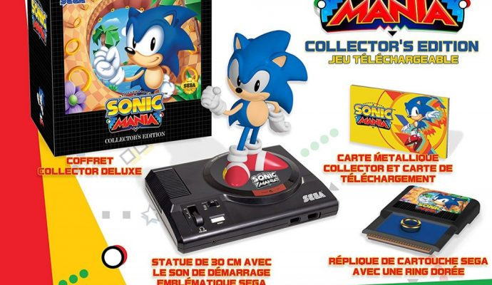 Sonic Mania édition collector europe