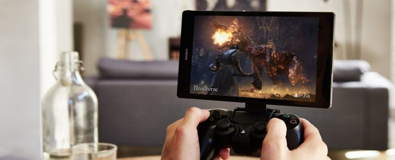 Manette Sony jeu mobile