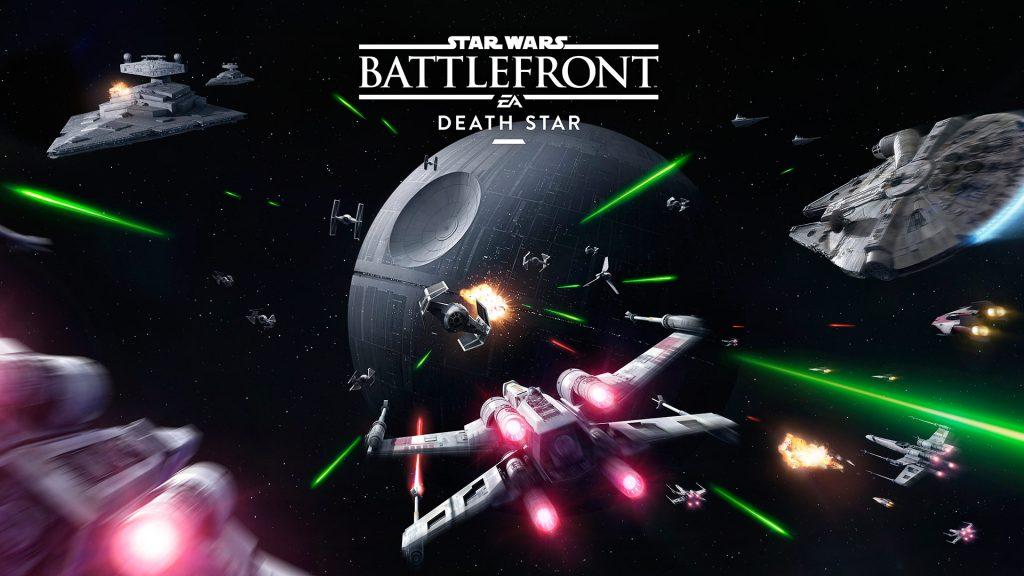 Affiche Star Wars Battlefront - L'Etoile de la Mort