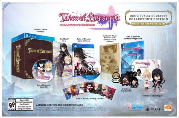 Tales of Berseria collector américain