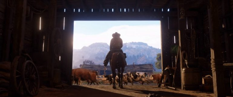 Red Dead Redemption 2 bande annonce