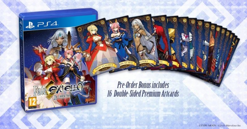 Fate Extella: The Umbral Star +jeu de carte