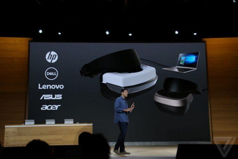 Keynote Microsoft casque VR