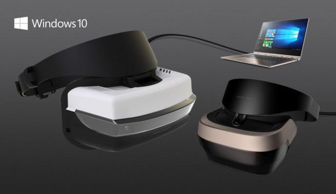Casque de réalité virtuelle Microsoft