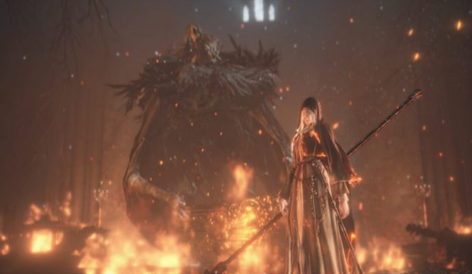Dark Souls 3 Ashes of Ariandel - Final Boss