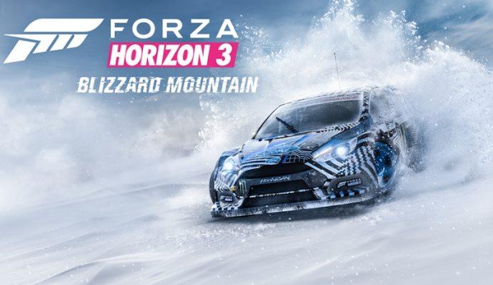 Forza Horizon 3 : Blizzard Mountain