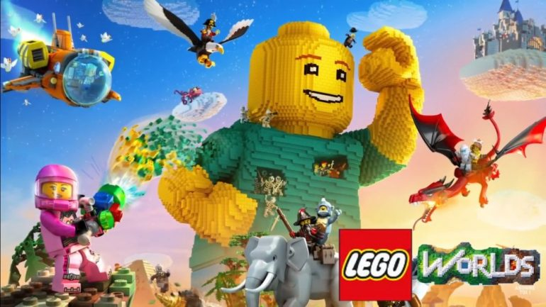 LEGO Worlds se montre