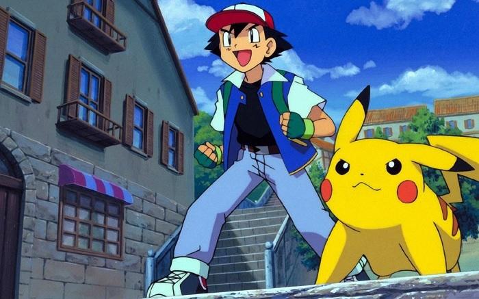 Pokémon sacha et Pikachu