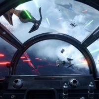 Cockpit vaisseau Star Wars Battlefront Rogue One: X-Wing VR Mission