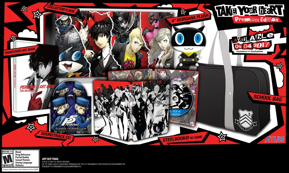 Persona 5 Take Your Heart