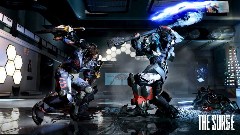 The Surge combat