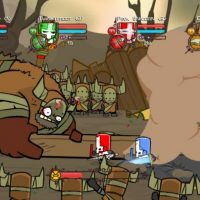 Castle Crashers boss