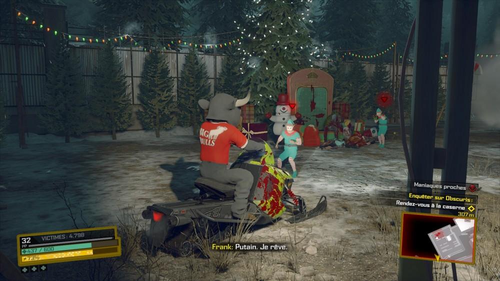 Les lutins du Père Noël psychopathe