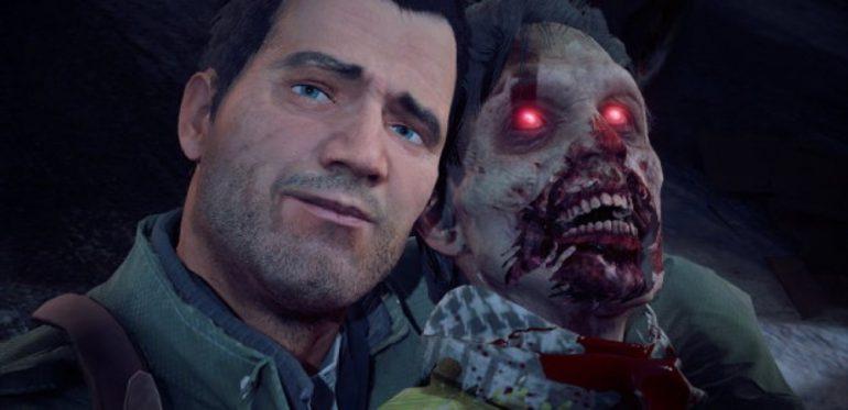 Dead Rising 4 - Franck avec un zombie