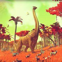 No Man's Sky dinosaure