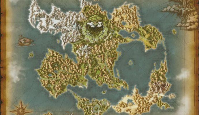 Dragon Quest XI Map