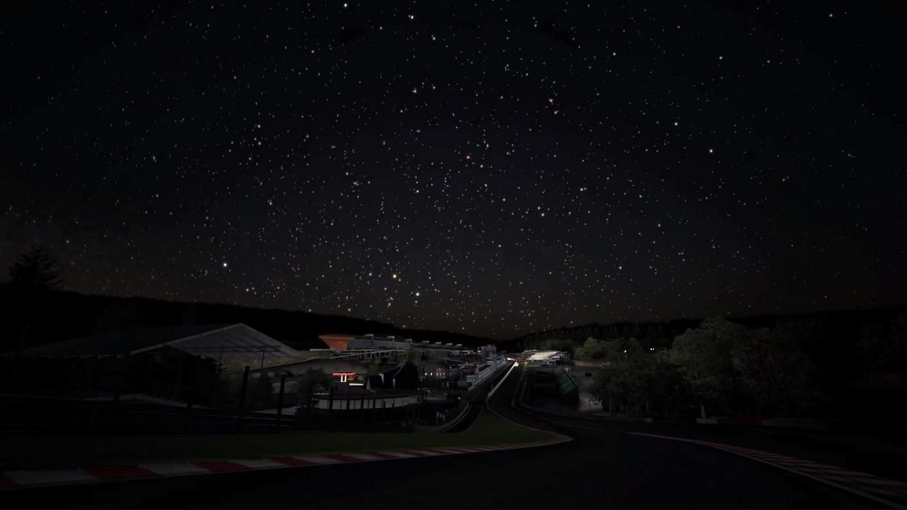 Gran Turismo 6 ciel étoilé