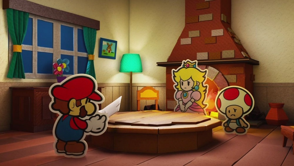 Paper Mario Color Splash introduction