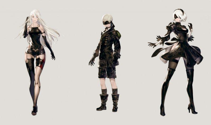 NieR: Automata - Personnages