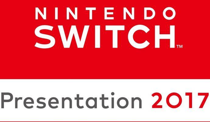 Nintendo Switch Présentation 2017