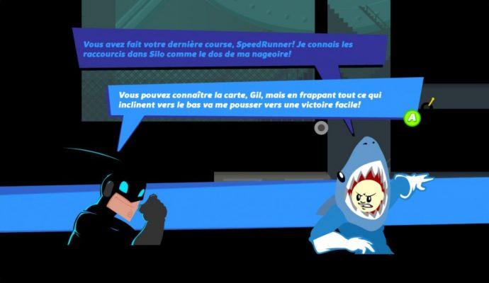 Phrases mal traduites dans speedrunners