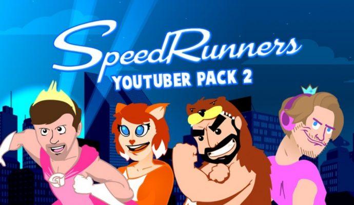 SpeedRunners Youtuber Pack 2 PewDiePie