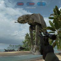 Star Wars Battlefront Rogue One Scarif Attaque des Marcheurs