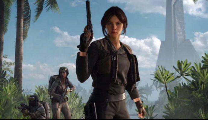 Star Wars Battlefront Rogue One Scarif Jyn Erso