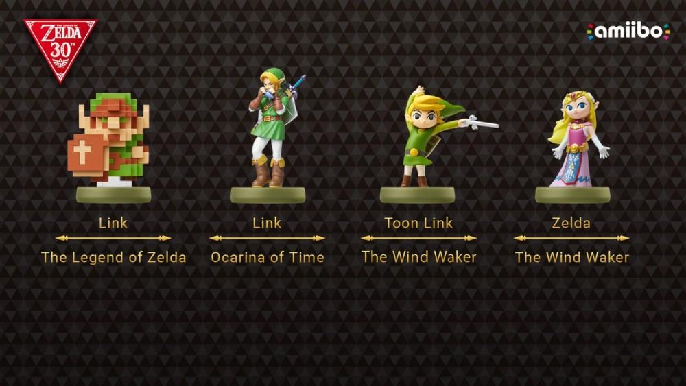 Les nouveaux Amiibo de la gamme The Legend of Zelda