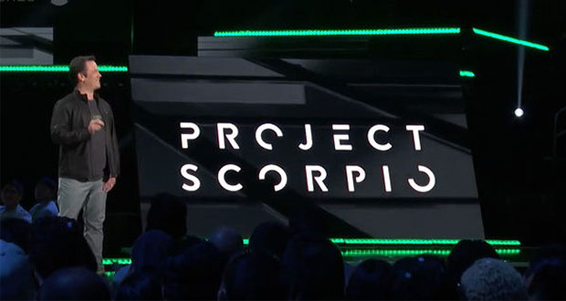 Streaming 4K et alimention interne — Project Scorpio