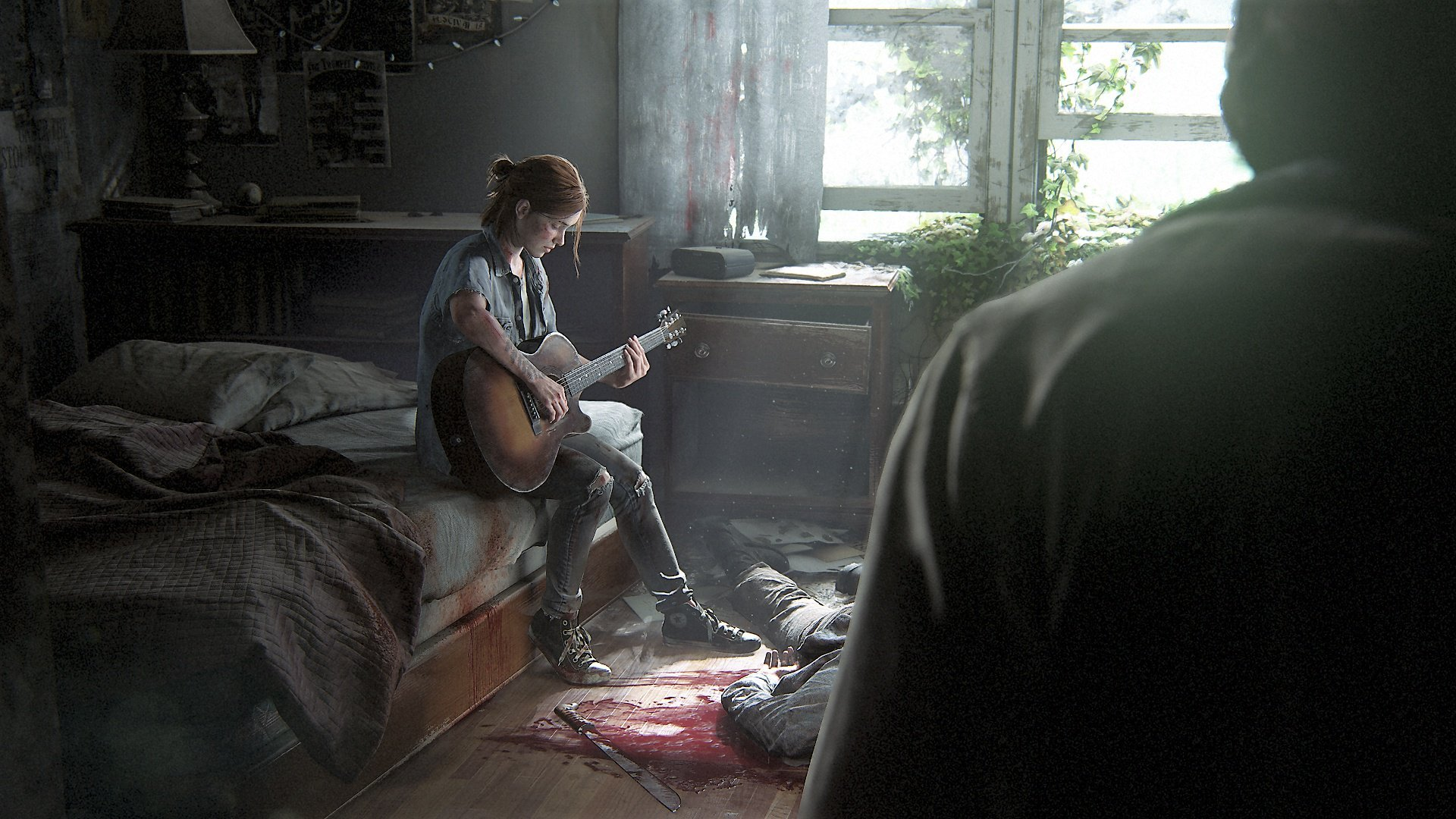 The Last of Us Part II reveal trailer screen