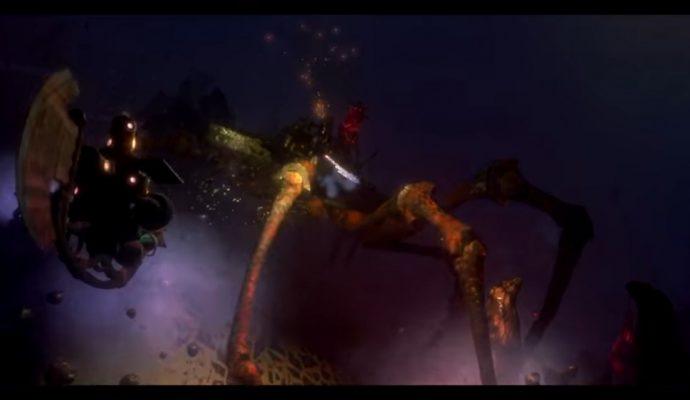 Crabe présent dans Diluvion que Leo Dasso et Polygon affrontent ensemble.