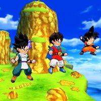 Goku prêt à l'attaque