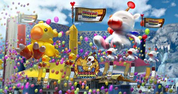 Final Fantasy XV -DLC Moogle Chocobo Carnival