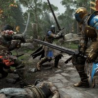 PlayStation Plus Les guerriers se battent dans For Honor