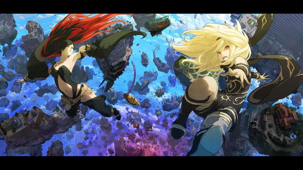 Gravity Rush 2 - Kat & Raven
