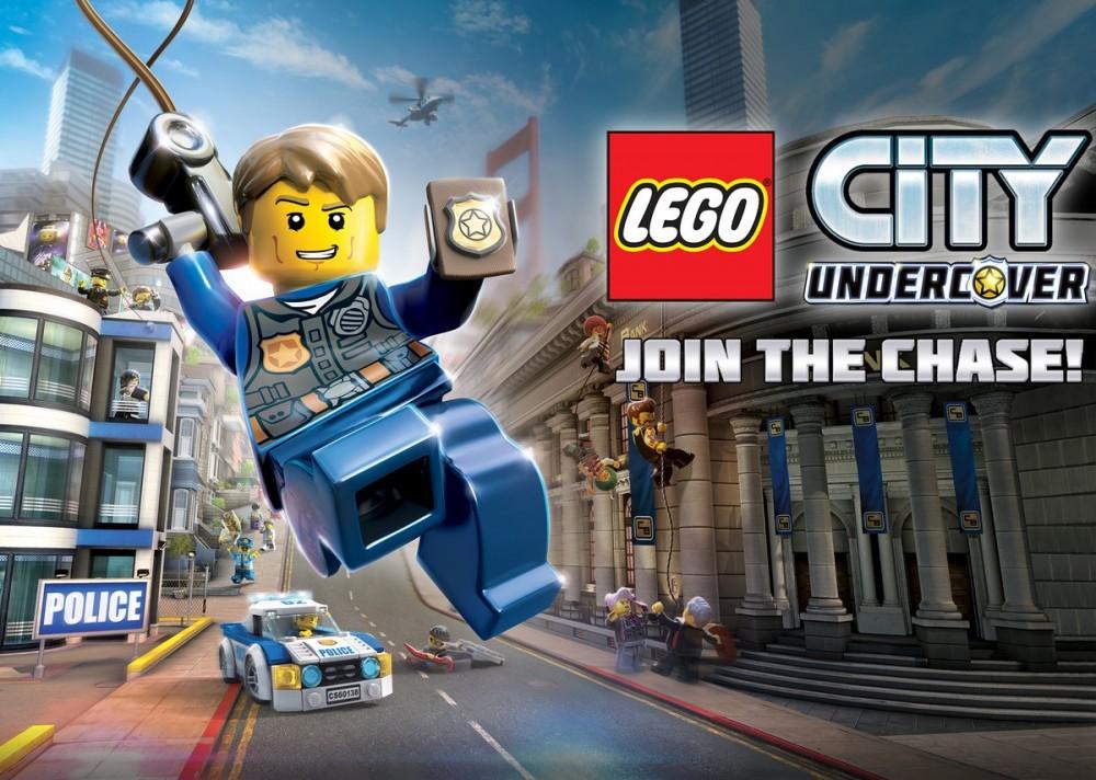 LEGO City Undercover sort sur current-gen au printemps 2017