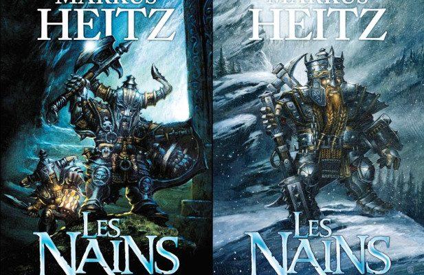 Jaquette des livres Les Nains e Markus Heitz. The Dwarves est adapté de ces romans