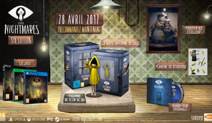 Little Nightmare Collector Six Edition