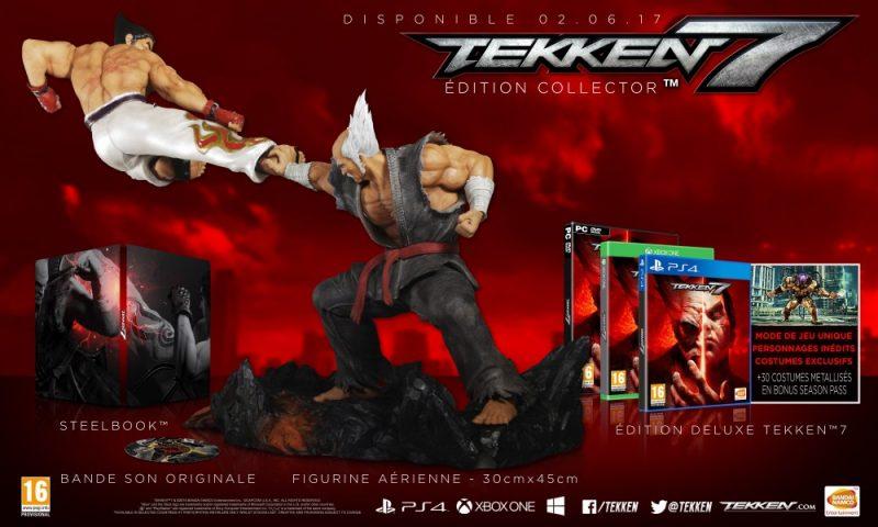 Tekken 7: Fated Retribution - edition collector