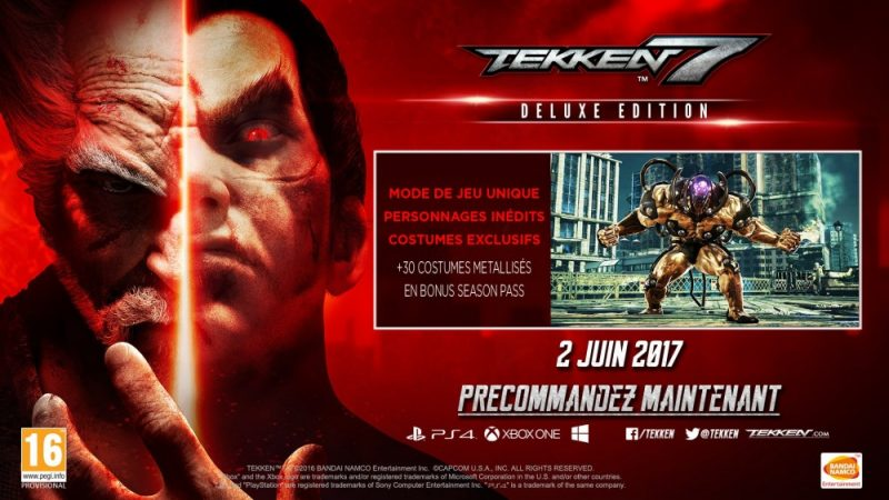 Tekken 7: Fated Retribution - edition deluxe