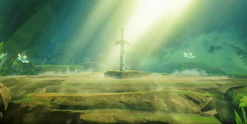 Master Sword Breath of the Wild