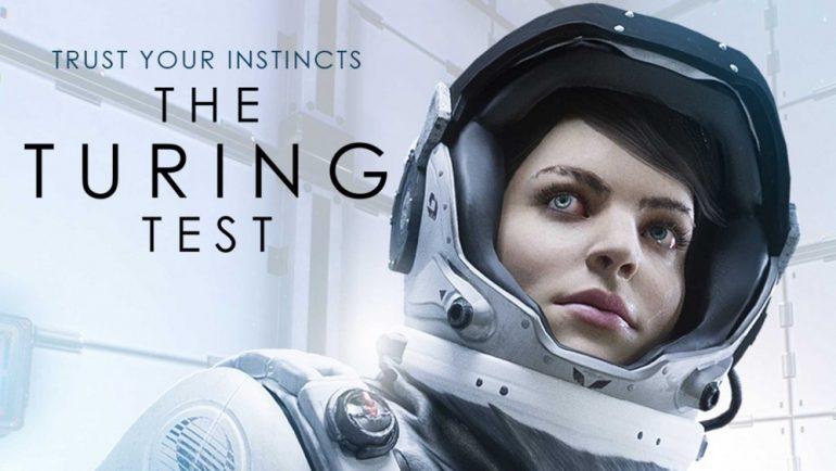 L'affiche d'annonce de The Turing Test