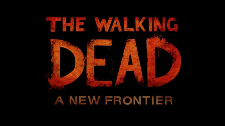 The Walking Dead A New Frontier Title
