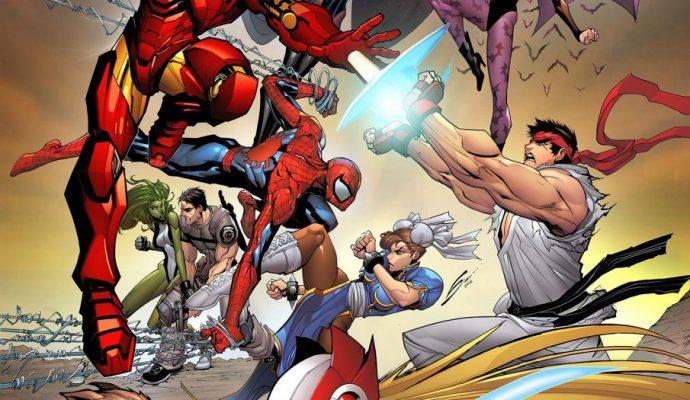 Les héros de Ultimate Marvel Vs. Capcom 3