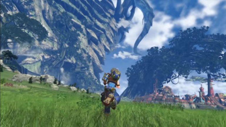 Xenoblade Chronicles 2, l'un de ses magnifiques décors.