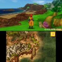 Test Dragon Quest VII: La Quête des Vestiges du Monde la carte sur petit écran