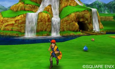 Test Dragon Quest VII: La Quête des Vestiges du Monde - gluant sur le chemin