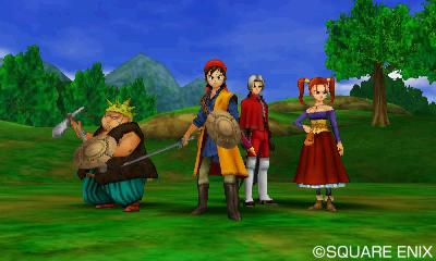 Test Dragon Quest VII: La Quête des Vestiges du Monde - La fine équipe