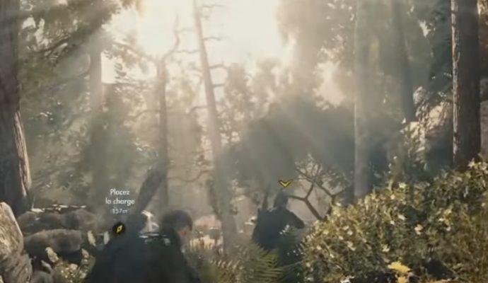 graphismes de Sniper Elite 4 et effets de lumières